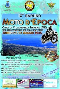 IX° Raduno Moto d'Epoca Città Villafranca T. 24 maggio 2015
